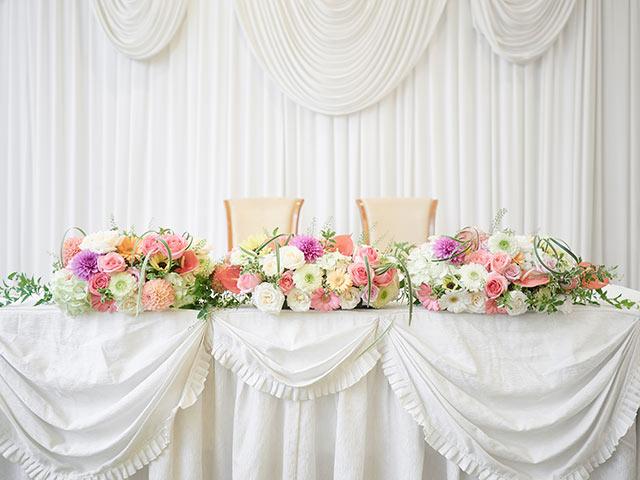 結婚式場の予約